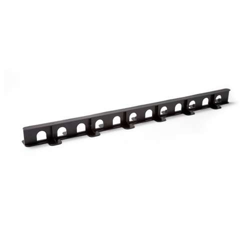 Waffle pod rail accessory